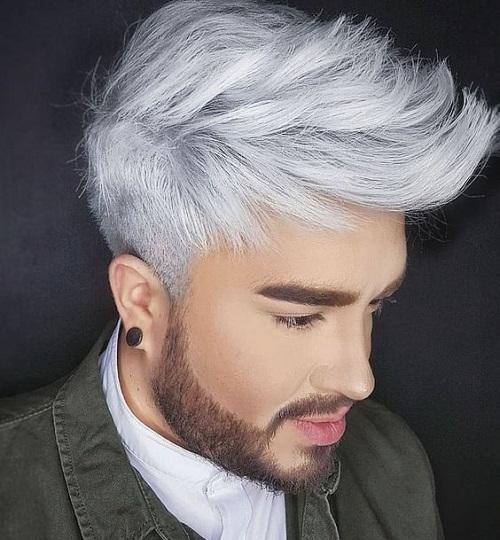Explicación peinados hombre 2021 Fotos de estilo de color de pelo - Corte de pelo hombre color 2021 | Cortes de pelo